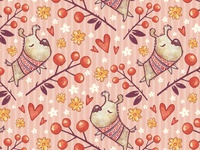 Time to Love. Seamless Pattern - 2