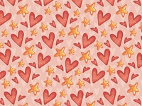 Time to Love. Seamless Pattern - 3