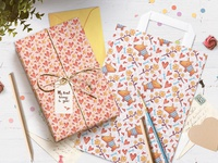 Time to Love. Wrapping paper