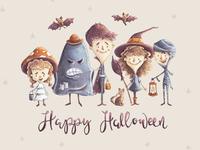 Kids Halloween Characters