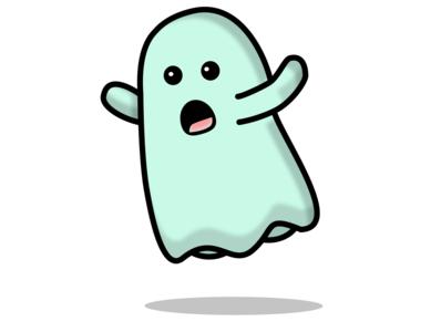Pee-Kaa-Booo halloween face emoji vector design figma