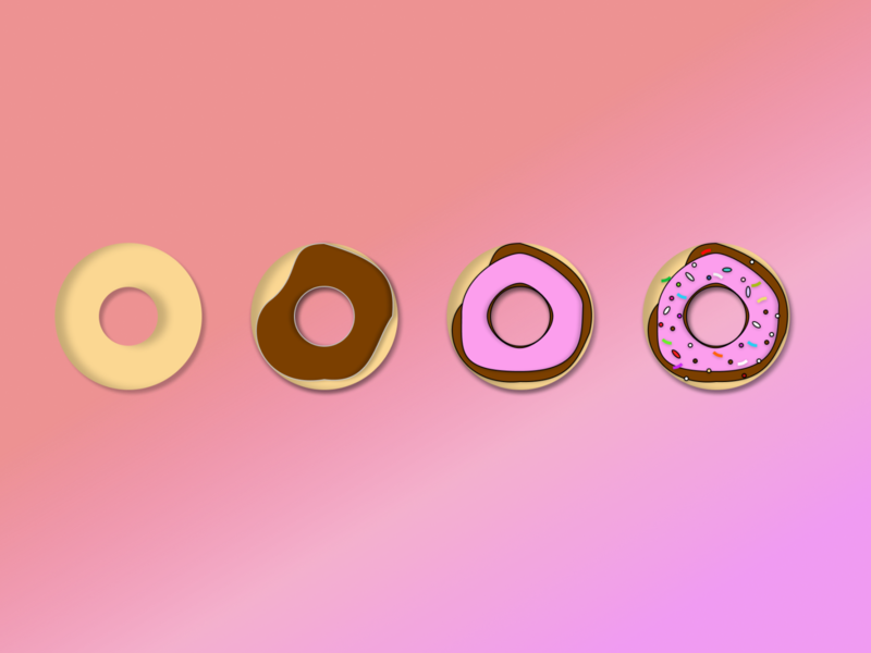 Donut Encryption data tresorit tresoritchallenge dribbbleweeklywarmup vector design figma process encryption