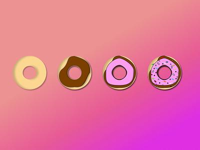 Donut Encryption data tresorit tresoritchallenge dribbbleweeklywarmup vector design figma process encryption