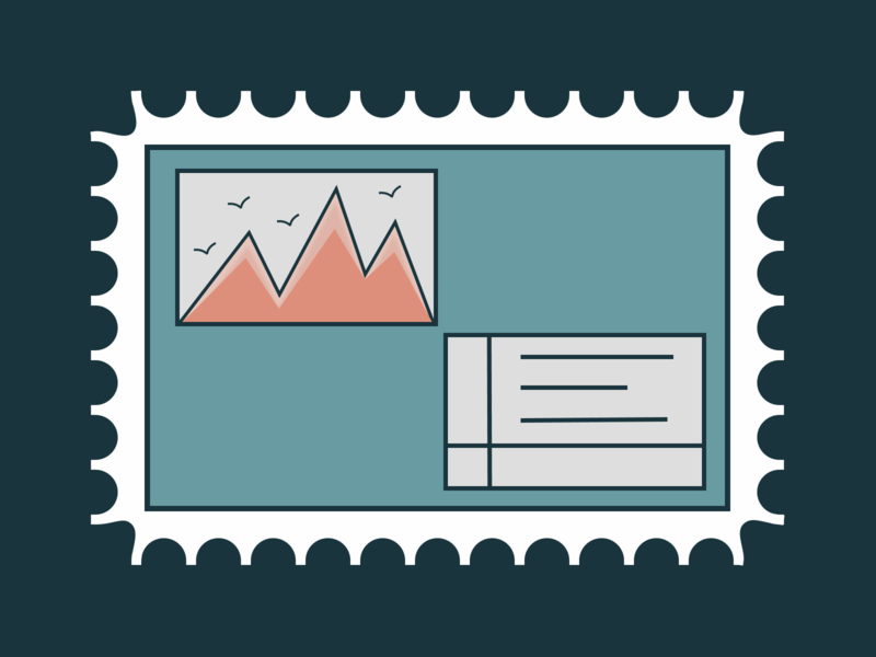 Stamp Desing worldwide landmark icon set icons usd postcards icongraphy graphics stamp branding iconography vector figma
