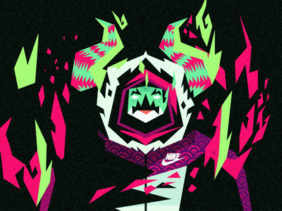 KIRIN illustration vector character