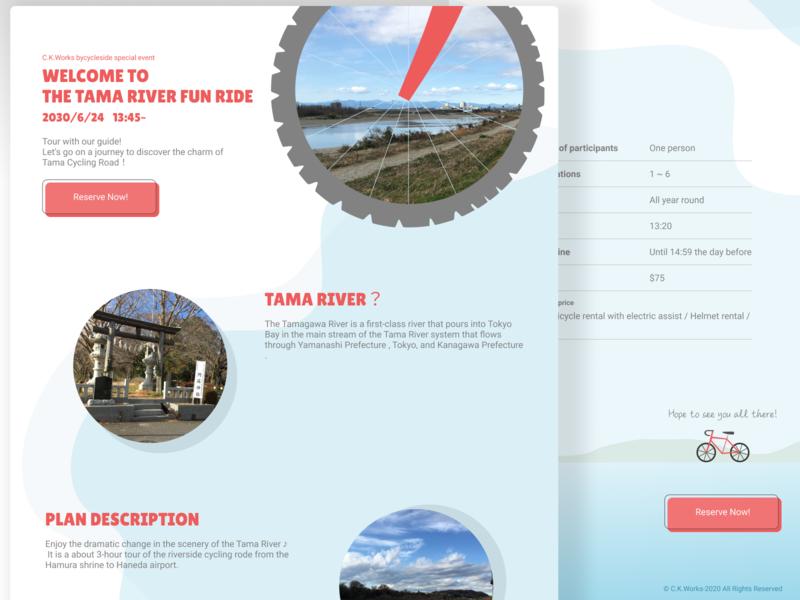Landing page web ui dailyui 003 dailyui