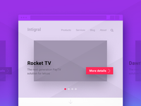 Responsive Wireframes for Homepage
