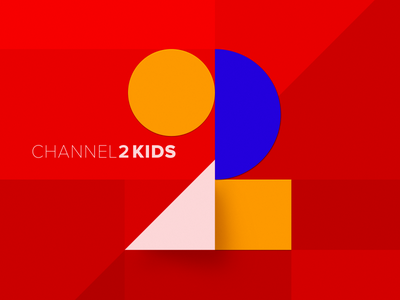 Logotype for a tv channel. style kids graphicdesign illustration logotype branding