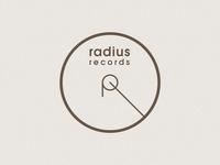 Radius Records Logotype