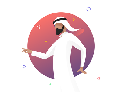 illustrations for corporate website vector ui icon it arab design illustration