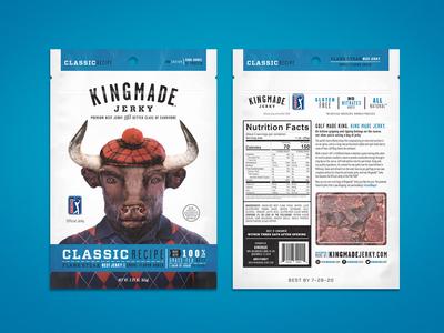 Kingmade Jerky Packaging Classic Recipe