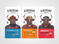 Kingmade Jerky 1 oz Packaging