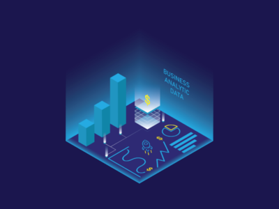 Isometric Design infographic 3d vector business flatillustration illustration design isometric