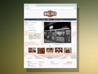 Eatery Web Design