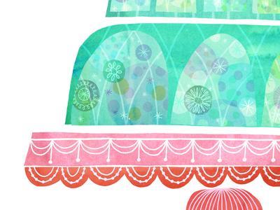 Jello jello watercolour watercolor illustration