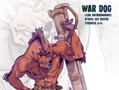 War Dog mutant sketch tmnt character design comic comics comic book manga anime illustration