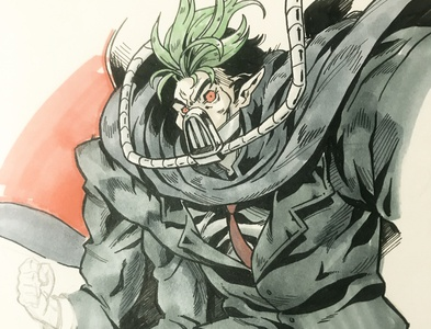 Dr Killemoff toxie toxic crusader toxic avenger art mutant sketch character design comic comics comic book manga anime illustration