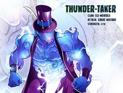 Thunder-Taker retro nostalgia 90s 80s art mutant tmnt character design comic comics comic book manga anime illustration