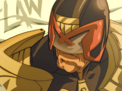 Judge Dredd Designs Themes Templates And Downloadable Graphic Elements On Dribbble