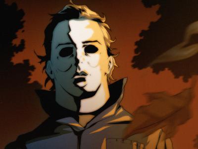 Halloween Countdown #2: Michael michael myers halloween horror movie illustration