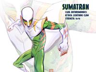 Sumatran mutant sketch tmnt character design comic comics comic book manga anime illustration