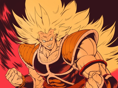raditz2 super saiyan namek vegeta goku raditz dragon ball dragonballz dragonball concept art sketch character design comic comics comic book manga anime illustration
