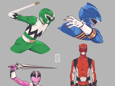 Power Rangers red ranger power rangers draw drawing sketch character design comic comics comic book manga anime illustration
