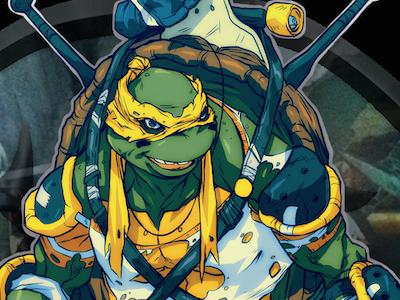 Titian tmnt teenage mutant ninja turtles illustration comic manga anime