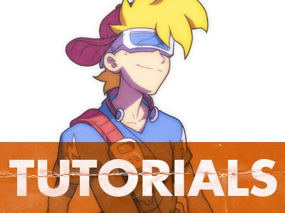 3 Tutorials tutorial illustration manga anime coloring inking drawing art digital