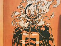 Ghost Rider - Inktober