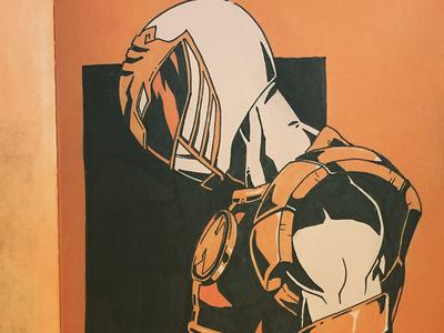 White Ranger - Inktober