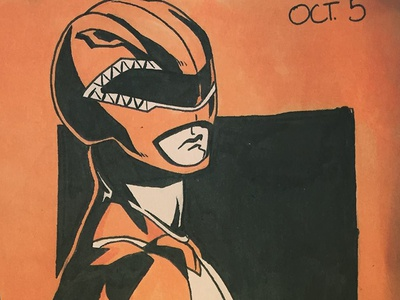 Red Ranger - Inktober