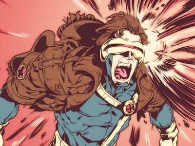 Cyclops character design graphic novel illustration comic book manga anime comics x-men xmen cyclops