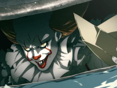 Hiya, Georgie dc marvel comics it2017 pennywise manga anime comic book illustration it