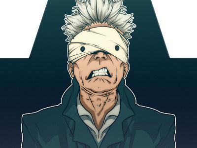 Blackstar concept art character design comic book manga anime illustration david bowie blackstar
