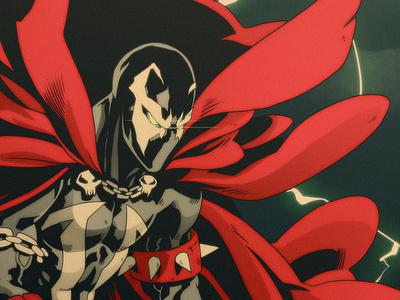 Spawn superhero character design art sketch illustration comics manga anime comic book comic spawn