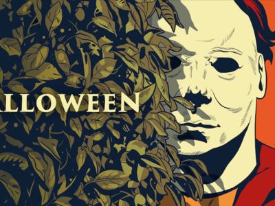 Halloween Promo Illustration john carpenter michael meyers michael myers slasher horror halloween comic comics comic book manga anime illustration