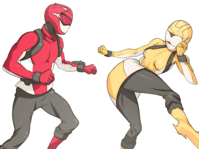 Power Rangers: Beast Morphers by Mike Anderson on Dribbble