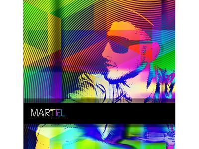 MARTEL entertainment music industry cover art