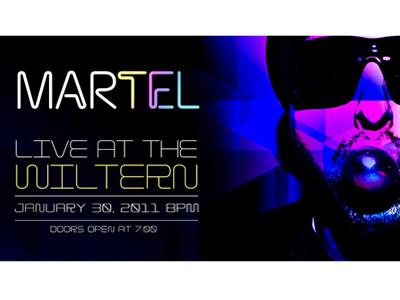 Martel03 music promotion poster