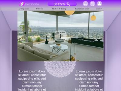 Hompage ux app