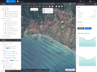 GUI for Web GIS Client