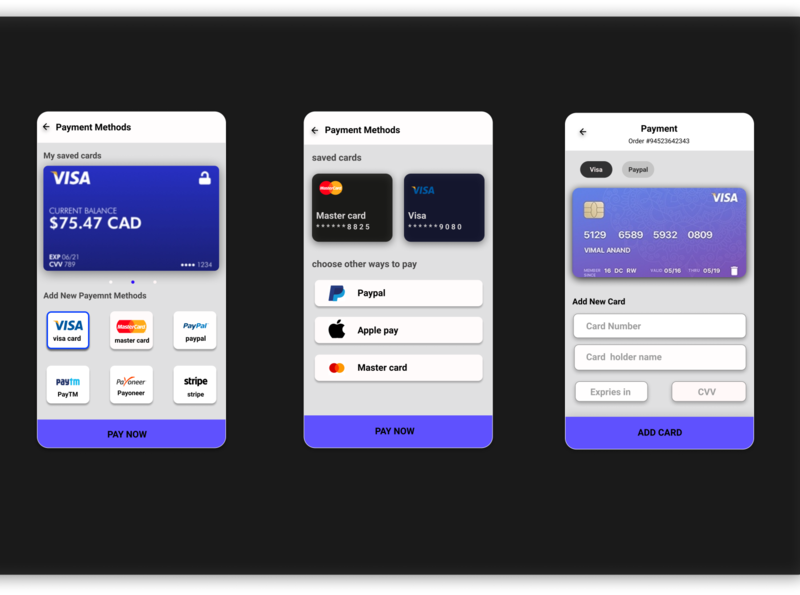 Lucid Payment Application shopping card payment flat uiux concept ux userinterface user experience ui illustration design app