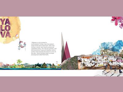 Module's Office Brochure design collage maker graphic design collage art