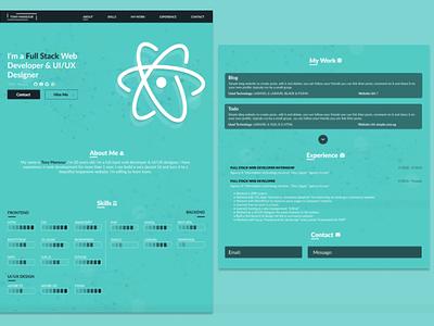 Portfolio ux website website design design ui web logo portfolio