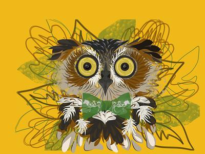 Espresso Owl coffee lovers coffee caffeine caffeinated jitters alerted espresso owl illustration grapic design design branding birds