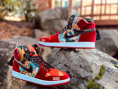 Migos AJ1s custom sneakers jordan air jordan nike sneaker illustration sneaker art sneakerhead sneakers