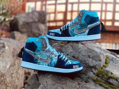 Migos AJ1s shoes jordan nike sneaker art sneakers custom sneakers sneakerhead