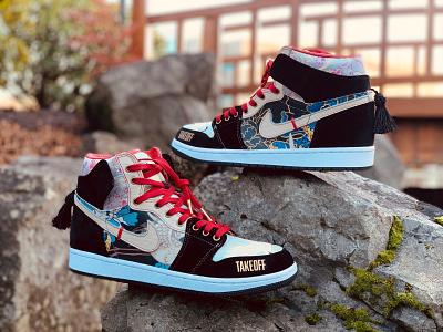 Migos AJ1s shoes custom sneakers sneaker art sneakers sneakerhead jordan nike