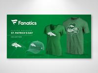 Fanatics St. Patrick's Day Campaign